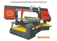 R4240-x singola colonna girevole orizzontale band taglio sega per metalli