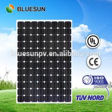 BlueSun big watt 48 volt mono solar panels use for system