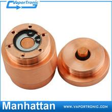 High Quality E Cig copper manhattan mod mechanical 1:1 manhattan mod clone