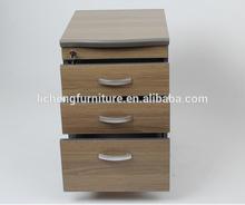 Hot sale ! Locked drawers filing pedestal/office filing cabinet