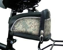 1680D polyester bicycle rear rack bag bicycle seat bag