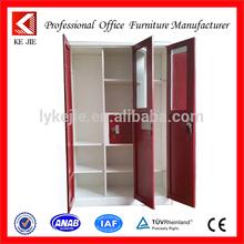 Low Price double door ikea bedroom furniture wardrobe steel almirah bedroom furniture 2 door locker
