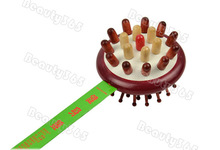 Wooden Body Back Knock Massager Hammer