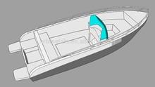 Hot sale marine 20ft aluminum boat for fishing, pilot, rescue