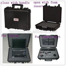Waterproof IP67 Hard Computer Case Tool Box with Foam Insert Plastic Laptop Case