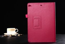 2014 New Arrival Perfect Fit Stand Leather Case for iPad Air 2 Wallet Cover Laudtec