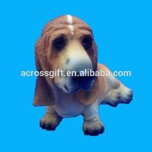 Resin Animal Decoration Lying Dog