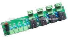 Top grade cheapest tcp/ip web 4 door access control panel