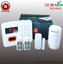 Smart Touch panel Smart PSTN wireless home anti-theft alarm security systems sms alert