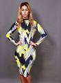Nyh030 baixo preço promocional Lace mangas compridas vestido Casual