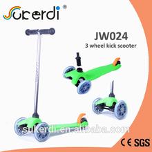 120/80mm 3 wheel plug in aluminum T bar kick kick scooter brand names