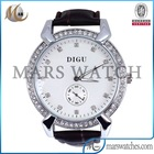 Luxury japan movt diamond quartz movement hand watch as best gift for girls