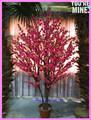 Proveedor de china para el hogar decoración de la boda cereza artificial de árboles bonsái, artificial de árboles de flores de cerezo