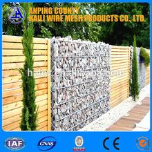 Costruzione utilizzato creativo della maglia del pvc rivestito di box gabbione/PVC box gabbione rivestito/saldato pannello di rete metallica