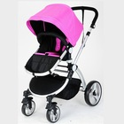 2 in 1 Aluminium frame germany baby pram with carry cot
