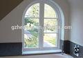 Arco de la ventana del PVC hecho en China / UPVC barato Ventanas y Puertas, Ventanas y puertas de PVC