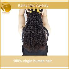 Factory Price 6A Luxurious Full Cuticle virgin kbl peruvian hair