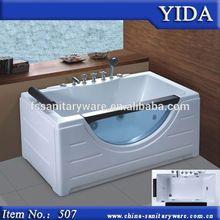 Corner installation type squar shape, new whirlpool massage bathtub with dvd and tv, arcrylic bathtub