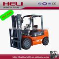 marca heli contrabalançada empilhadeira h2000 motor diesel da série cpcd30 3 tonelada empilhadeira