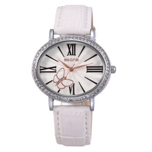 Hot selling SKONE 9369 vogue style butterfly decorated ladies brand watches