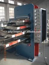 rubber floor tiles vulcanizing press machine for tyre recycling / rubber tile press machine