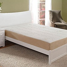 Sleep Innovations Sure Temp Memory Foam Mattress with removable bamboo cover