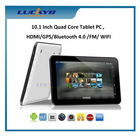 """10.1"""" Android 4.4 MTK8127,dual core tablet pc OEM customized logo 1G/8G with HDMI output, bluetooth"""