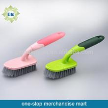 Plastic handle floor brush bathroom floor brush floor cleaning brush