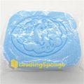 super qualidade de pva esponja de banho da flor