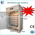 Alta taxa de eclosão 500 ovos de pato incubadora de ovos para venda