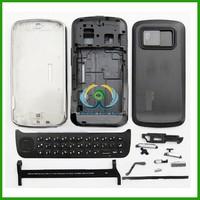 Black Full Housing Cover + Keypad for Nokia N97 Black Mobile Phone Repair Parts