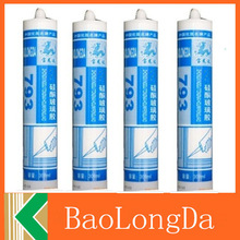 yellow silicone clean &acetic silicone sealant &clear acrylic adhesive