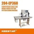 Keestar 204-ep360 computador industrial sapatos máquina de costura