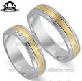il top del design corea stile in acciaio inox anelli coppia