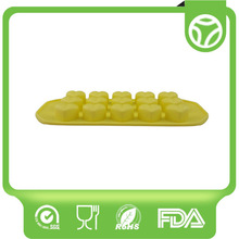 Top level new coming up promotion silicone ice cube tray
