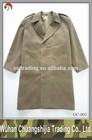 army style khaki mens military coats