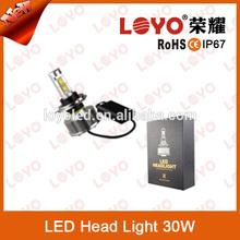 2400LM bike motorcycle led headlight bulb Hi/Lo LED light beam H4 led g2 headlight