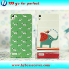 cute animal design case cover for huawei ascend p6