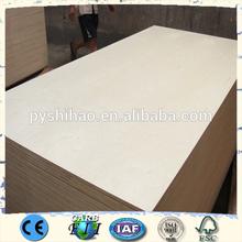 waterproof commercial plywood / chinese ash faced veneer mdf