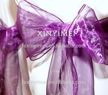 100% polyester satin wedding sashes for outdoor
