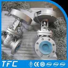 API 6D carbon steel chain wheel gate valve