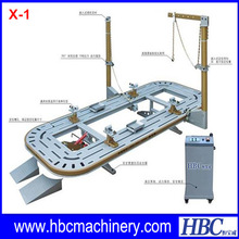 Steel Car Chassis Straightening Bench/Frame Straightening Equipment/Collision Repair Car Bench X-1