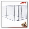 low price chain link rolling fancy dog kennel cage china