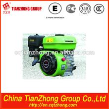 TZH electric start 5.0hp vertical gasoline engine shandong china coal