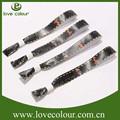 Logotipo personalizado baratos del festival artesanías brazalete de tela para la venta/pulsera
