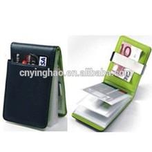 2014 hot sale RFID blocking protective credit card holder wallet