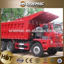 6x4 8x6 mining truck/mining dump truck/mining tipper 50Mt load 375hp