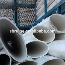 pvc flat ellipse plastic oval pipe
