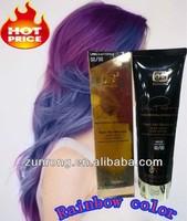 Hot sales best professional glow in the dark hair dye
