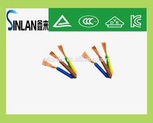 3 cores flexible PVC cable singapore power cord